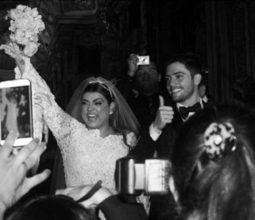 Giovanna Ewbank, Bruna Marquezine outras famosas que brilharam no casamento de Preta e Godoy