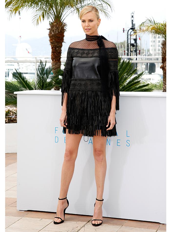 onfira os looks usados por Charlize Theron, Salma Hayek, entre outras no Festival de Cannes