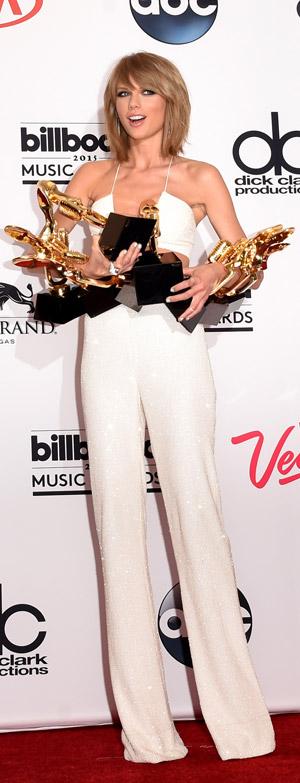 Taylor Swift foi a grande vencedora do BBMA 2015. Veja lista completa!