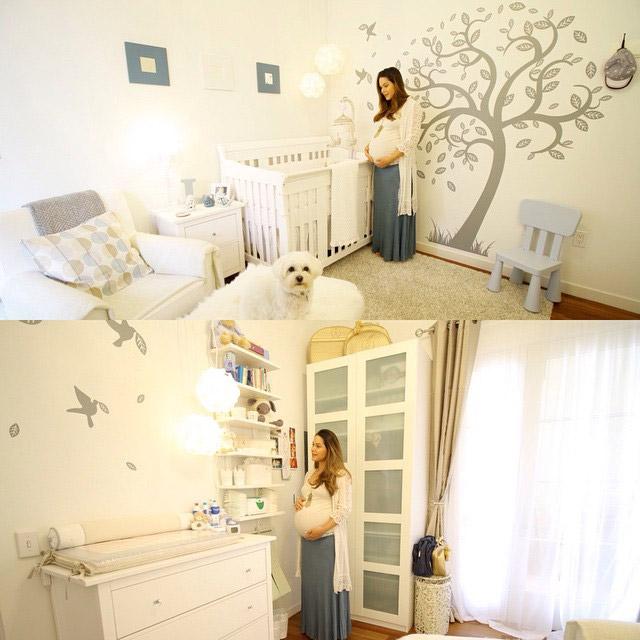 Após muito trabalho, Fernanda Machado mostra quarto do filho