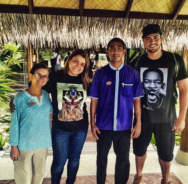 Lua de Mel: Preta Gil mostra o último dia nas Ilhas Maldivas