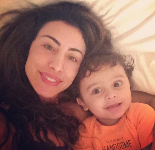 Jaque Khury revela detalhes sobre a rotina de sono do filho