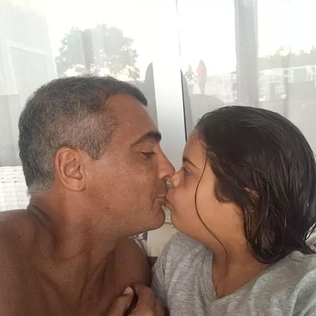 Romário posta foto fofa com a filha Ivy - Reprodução Instagram