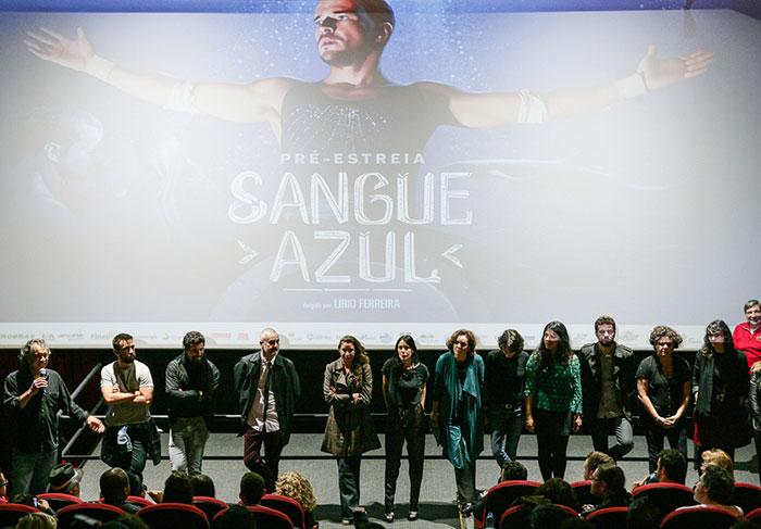 Daniel de Oliveira lança o filme Sangue Azul em São Paulo