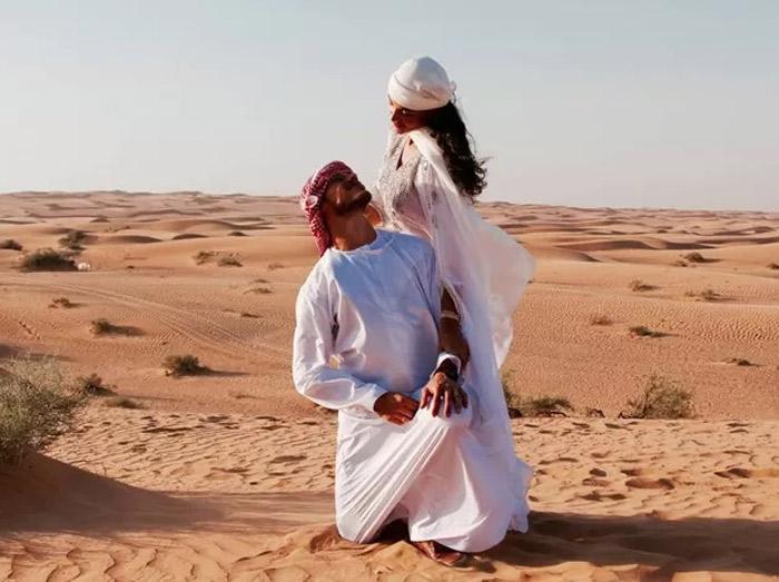 José Loreto e Débora Nascimento se casam em Abu Dhabi