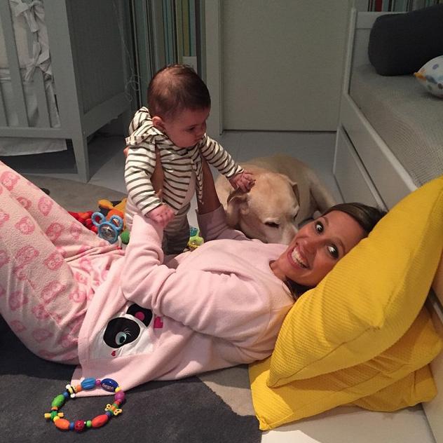 Luísa Mell esbanja alegria com mais uma primeira vez do filho