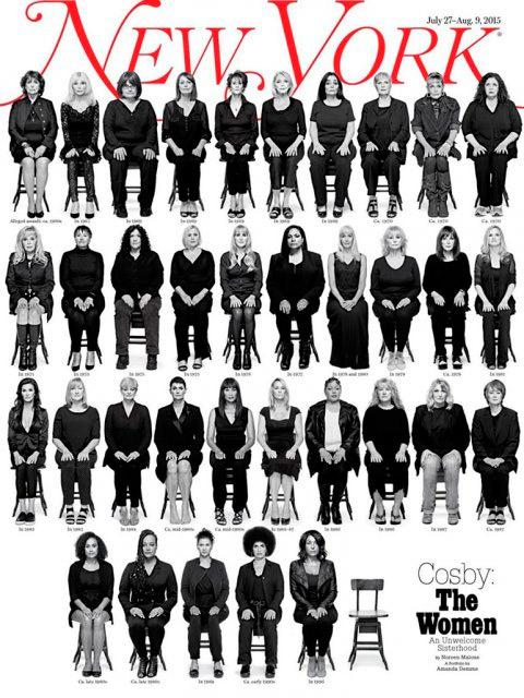 Supostas 35 vítimas de Bill Cosby posam juntas em revista