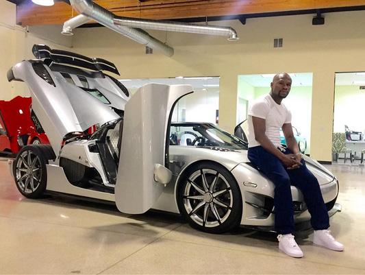 Floyd Mayweather compra carro raríssimo de R$ 16 milhões