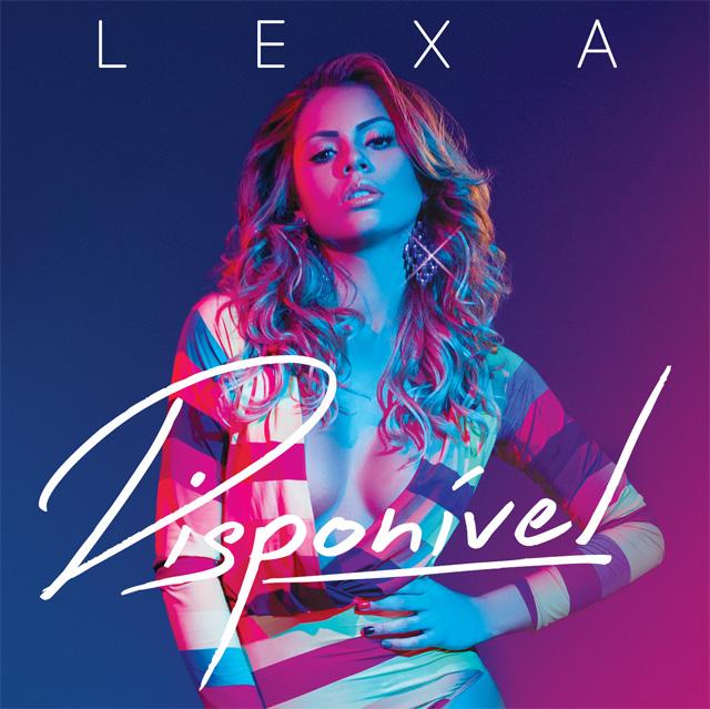Lexa divulga a capa de seu primeiro CD