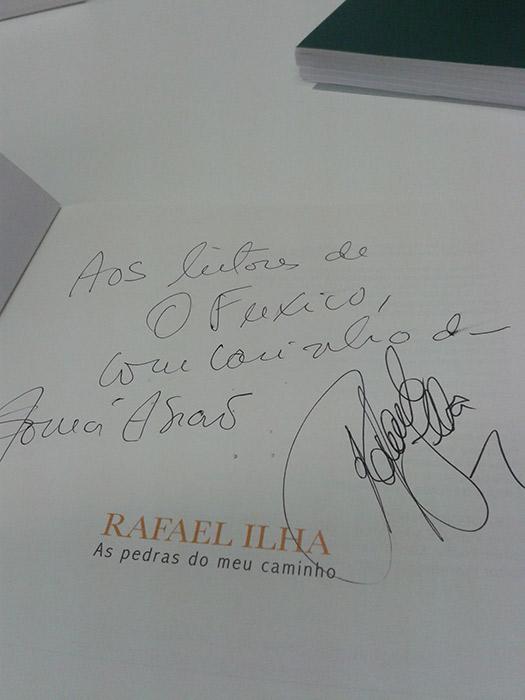 Rafael Ilha lança biografia em São Paulo