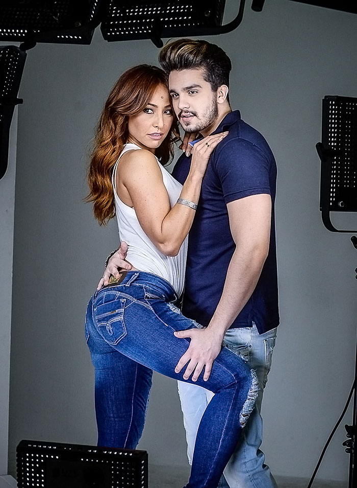 Sabrina Sato e Luan Santana esbanjam beleza em nova campanha