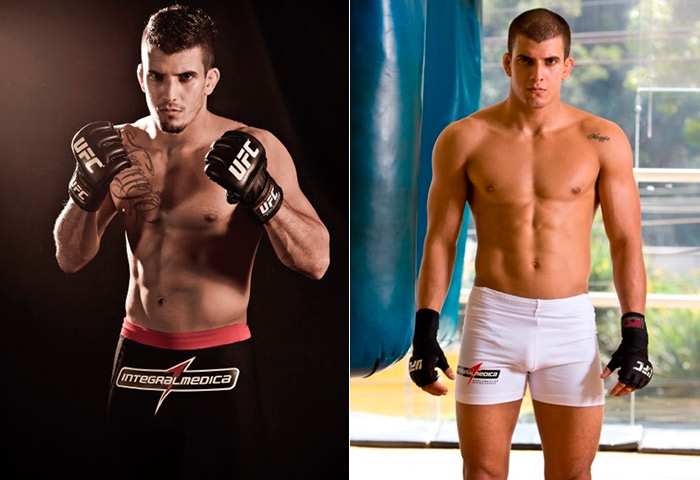 Lutador Felipe Sertanejo emagrece para luta: 'Perdi 14kg'