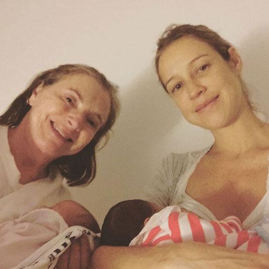 Luana Piovani sobre chegada dos gêmeos: 'Cansada e feliz'