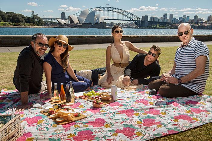 Juliana Paes, Fábio Assunção e elenco gravam na Austrália