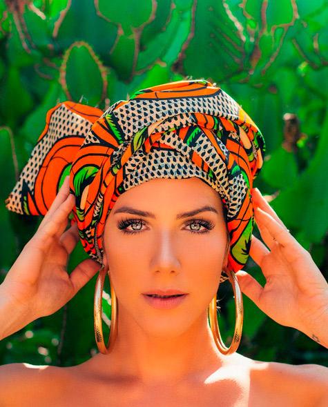 Foto de Giovanna Ewbank divina na África aparece na web