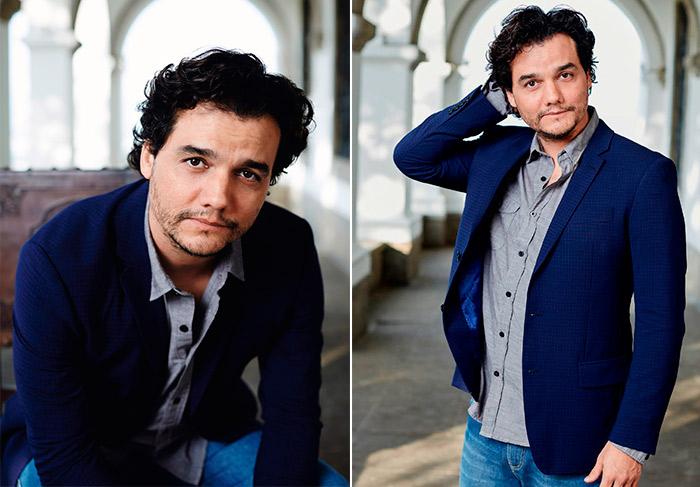 Wagner Moura: 'Já já me chamam para ser pai da Marquezine'
