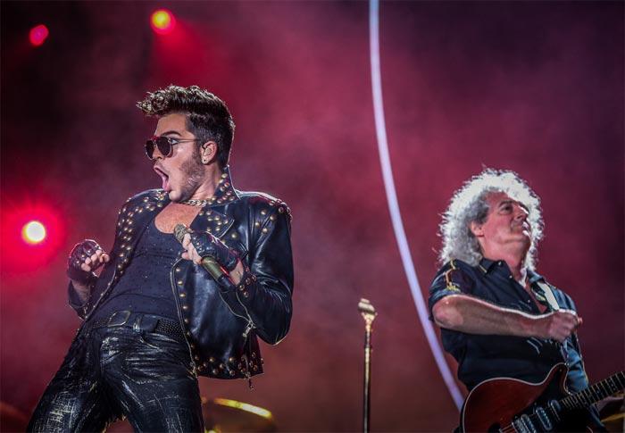 Adam Lambert e Queen levam público à loucura no RiR