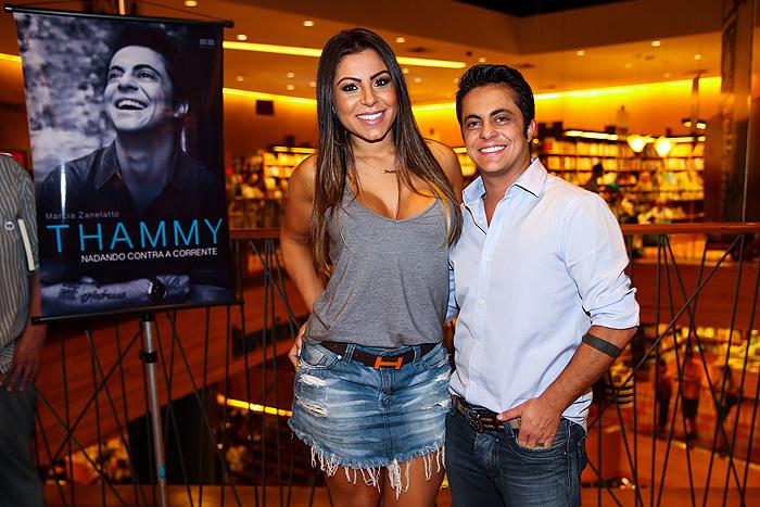 Thammy Miranda lança seu livro em São Paulo