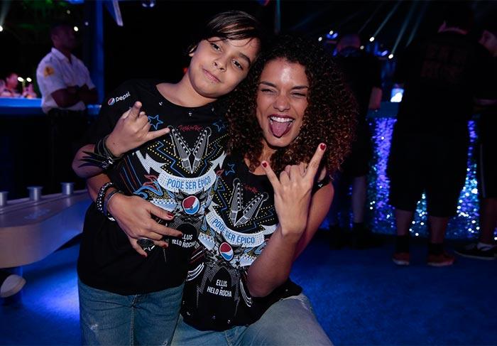 Kizi Vaz vai com o filho ao Rock in Rio