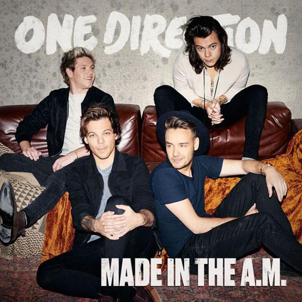 One Direction divulga capa de próximo álbum