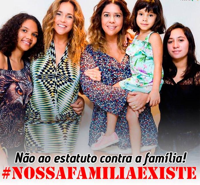 Daniela Mercury e Malu Verçosa fazem campanha pela adoção
