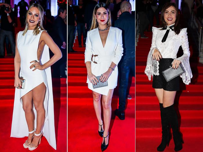 Confira os looks usados pelas famosas em festa de revista