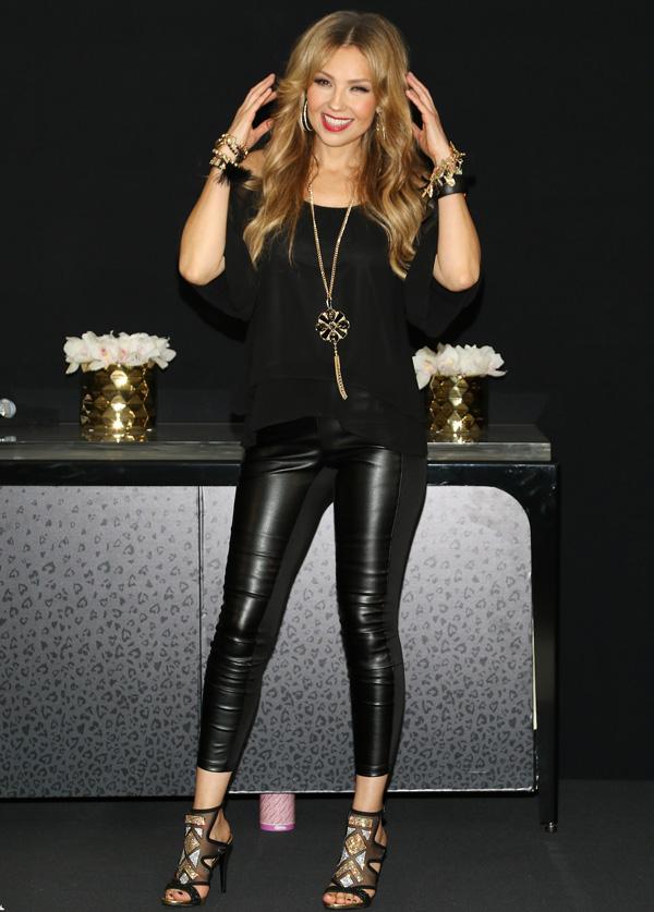 Thalía lança nova linha de sua grife, nos Estados Unidos