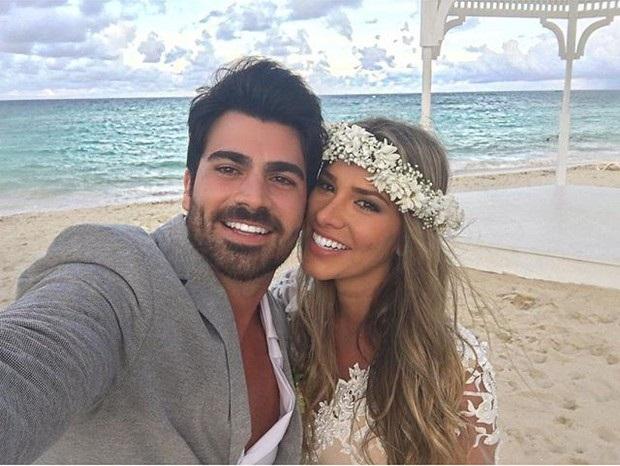 Rodrigão e Adriana se casam