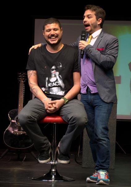 Danilo Gentili e Raul Lemos apoiam ONG Make a Wish