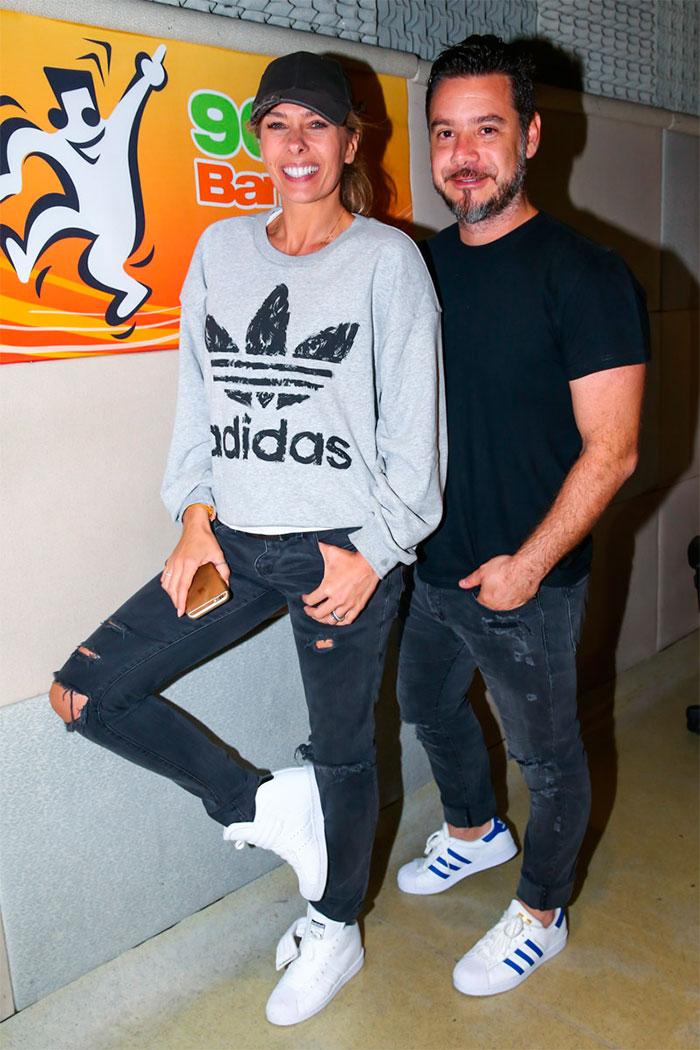 Adriane Galisteu participa da estreia de programa de rádio