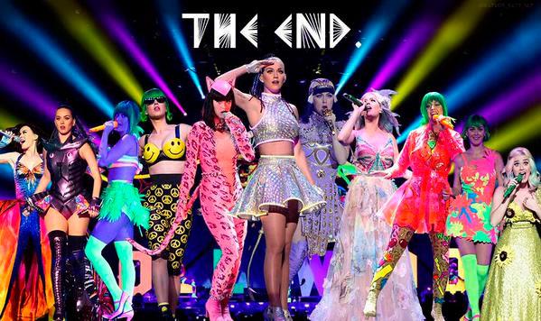 Katy Perry faz último show de sua turnê mundial