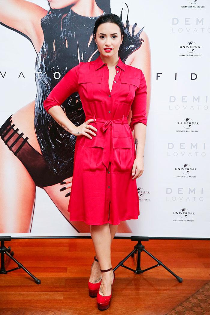 Demi Lovato revela: 'Parei de encarar críticas negativamente'