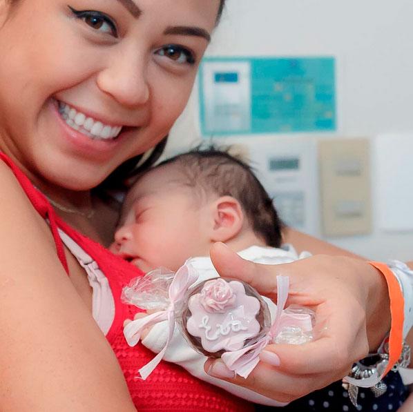 Sabrina Kanai, musa do MasterChef, dá à luz a Eva