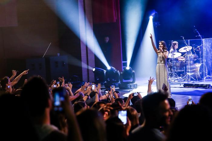 Sandy se apresenta em Paulínia com ingressos esgotados