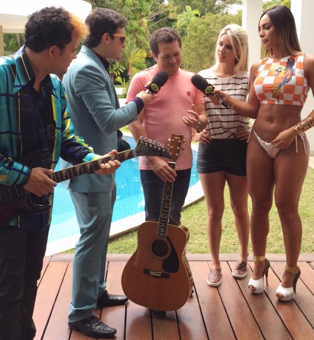 Chimbinha anuncia oficialmente nova vocalista da Calypso
