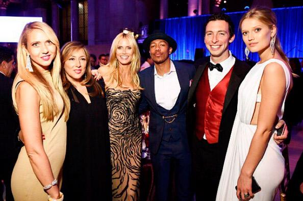 Heidi Klum andou flertando com o ex-marido de Mariah Carey