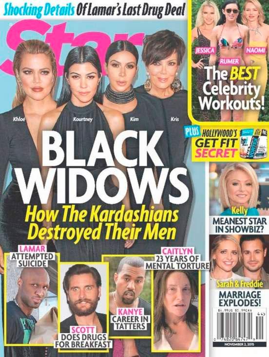 Kardashians processam revista Star por causa de capa