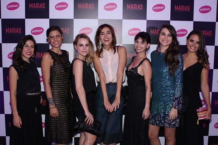 Maria Casadevall e Maria Melilo participam de evento