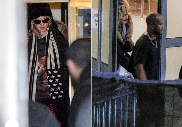 Madonna é vista com suposto novo namorado