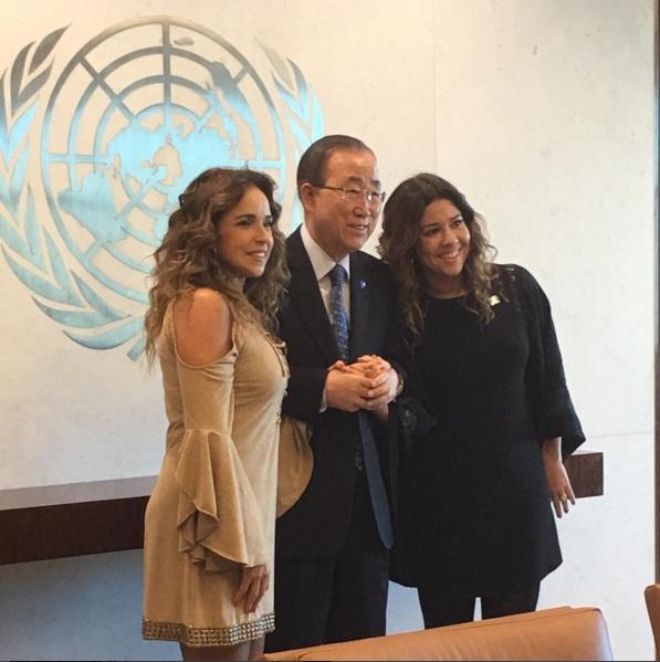 Daniela Mercury na ONU