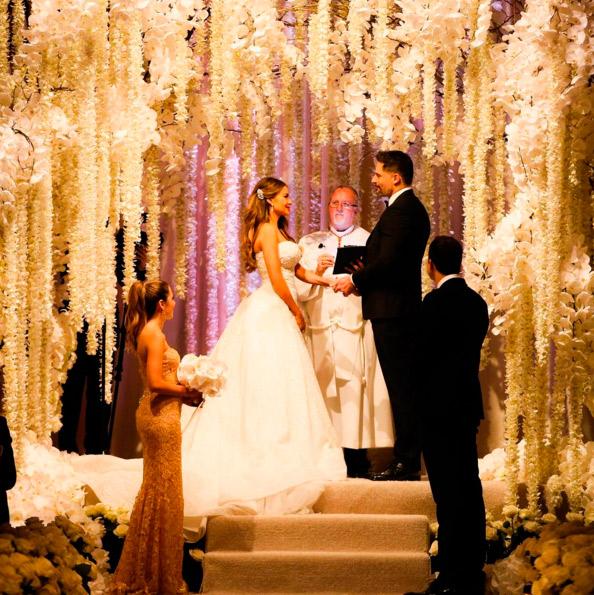 Sofia Vergara e Joe Manganiello estão oficialmente casados