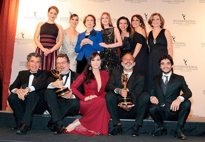 Império ganha prêmio Emmy Internacional