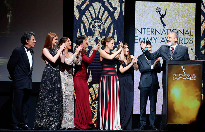 Império ganha prêmio Emmy Internacional ,