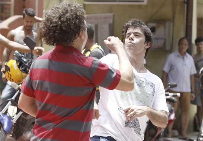 A Regra do Jogo vai mostrar pancadaria no Morro da Macada: Oziel dá uma surra em Rui