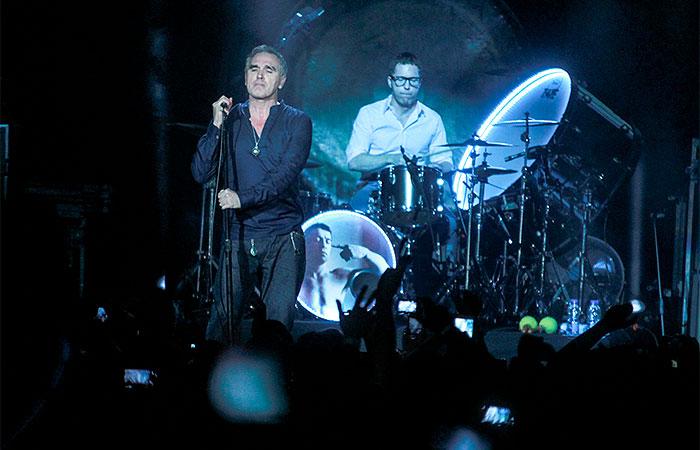 Morrissey, ex-vocalista do The Smiths, faz show no Rio