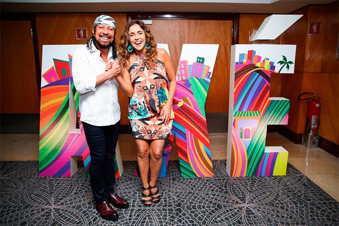 Daniela Mercury divulga folia de Salvador 2016 em SP,