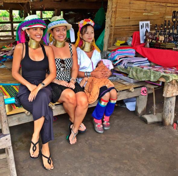 Mariana Rios mostra detalhes de viagem para a Tailândia