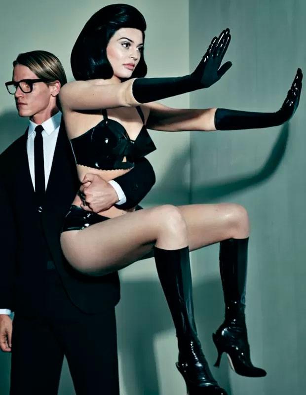 Kylie Jenner faz ensaio fotográfico bem ousado. Confira!
