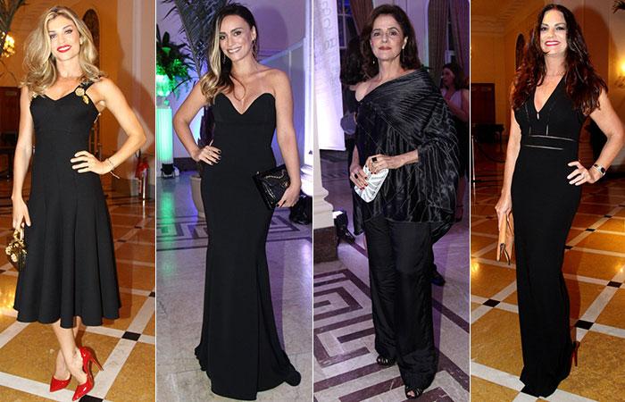 Veja o look dos famosos que estiveram em premiação, no Rio