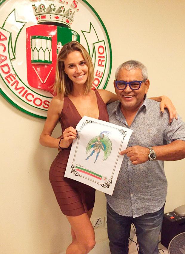 Renata Kuerten será destaque no carnaval carioca